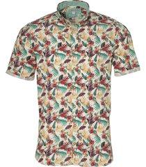 colours & sons overhemd - slim fit - beige