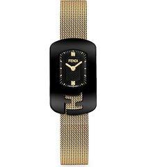 chameleon stainless steel mesh bracelet watch