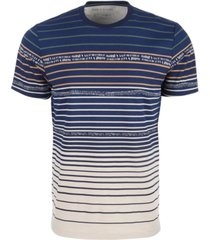 sun + stone men's variegated color striped t-shirt, created for macy's