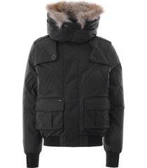 nobis cartel bomber jacket | steel grey | nobiscar-gry