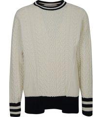 golden goose over devon college style sweater
