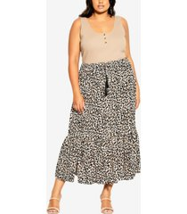 plus size prowess skirt