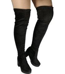 botas  celeste 5 y medio licrada outfit negro