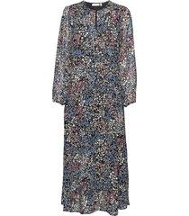 lylaiw dress maxi dress galajurk multi/patroon inwear