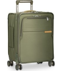 "briggs & riley baseline 19"" softside carry-on commuter spinner"