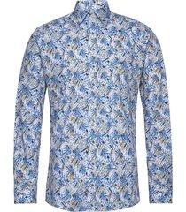 8564 - iver overhemd business blauw sand
