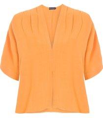 blusa feminina cachecouert - amarelo