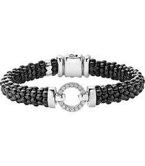women's lagos black caviar bracelet