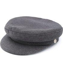 manokhi x toukitsou greek fisherman hat - grey