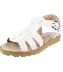 sandalia blanca kataleya