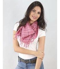 pañuelo rosa spiga 31 escocés