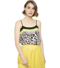 blusa io sm multicolor - calce regular