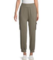 bb dakota women's love pockets jogger pants - surplus grey - size m