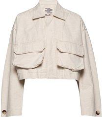 brooklynn outerwear jackets utility jackets crème baum und pferdgarten