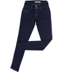 calça jeans skinny rodeo western feminina