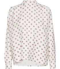 prarie shirt blouse lange mouwen crème maud