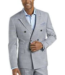 james tattersall kings cross gray plaid slim fit suit