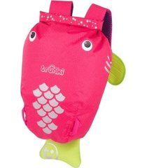 mochila infantil trunki - modelo paddlepak - peixe
