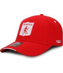 gorra américa de cali oficial oc caps clásica roja