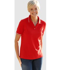 poloshirt dress in rood