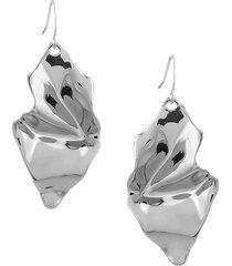 alexis bittar women's crumpled wire drop earrings