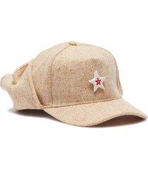 ceramic star tweed baseball cap