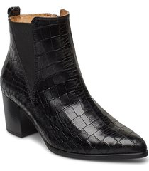 ankle boot shoes boots ankle boots ankle boot - heel svart gabor