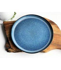talerz ceramiczny talerz ręcznie robiony