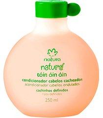 tóin óin óin condicionador cabelos cacheados naturé - 250ml