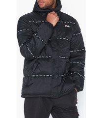 fila tatsuji puff jacket jackor black