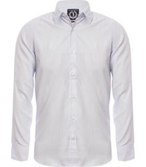 camisa aleatory slim fit manga longa dash masculina