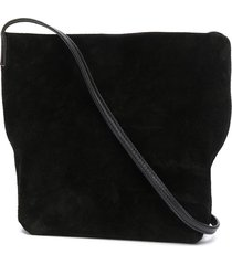 ann demeulemeester squared-shape crossbody bag - black