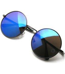 john lennon sunglasses round shades gold frame mirror lenses retro