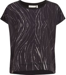 sicily tshirt t-shirts & tops short-sleeved svart inwear
