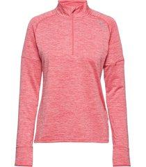 pursuit thermal1/4 zip l/s top-w sweat-shirt trui roze 2xu