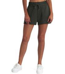 studio women's drawstring sweat shorts