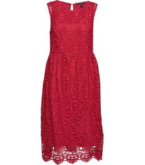 dresses light woven jurk knielengte rood esprit collection