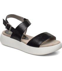 bimax_gcr shoes summer shoes flat sandals svart unisa