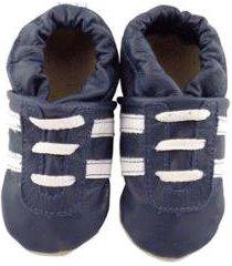 pantufa catz calçados infantil couro angel - unissex