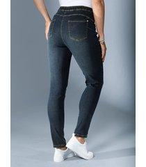 jeansleggings miamoda dark blue
