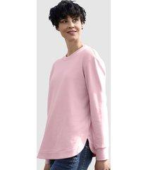 sweatshirt dress in zalm