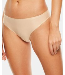 chantelle women's soft stretch one size seamless thong underwear 2649, online only