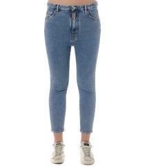 dsquared2 denim stretch cropped jeans