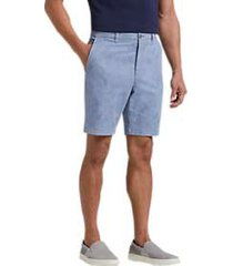 joseph abboud blue palm leaf modern fit shorts