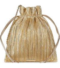 loeffler randall women's sibyl pleated evening pouch - gold