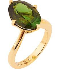 dynamite' tourmaline 18k gold cocktail ring