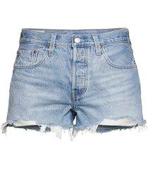 501 original short luxor heat shorts denim shorts blå levi´s women