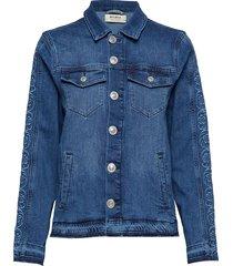arrie free jacket jeansjack denimjack blauw mos mosh