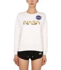 alpha industries nasa sweatshirt