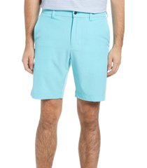 callaway golf(r) stretch golf shorts, size 38 in blue curacao heather at nordstrom